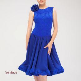 """Рейтинговое платье """"Валенсия"""" синее"""