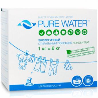 Pure Water - Стиральный порошок 1 кг