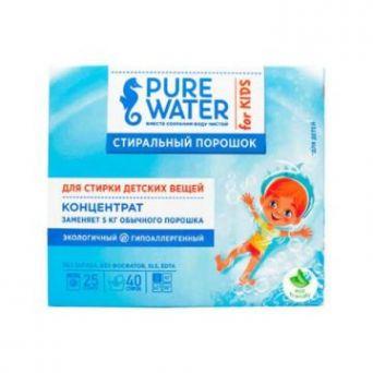Pure Water - Стиральный порошок для детского белья 800 г