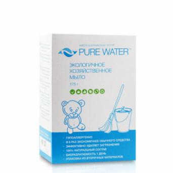 Pure Water - Хозяйственное мыло 175 г