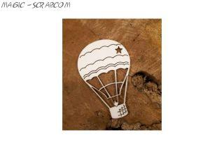 "Чипборд ""Воздушный шар"""