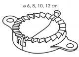Приспособление для вареников DELICIA 4 шт. 630880