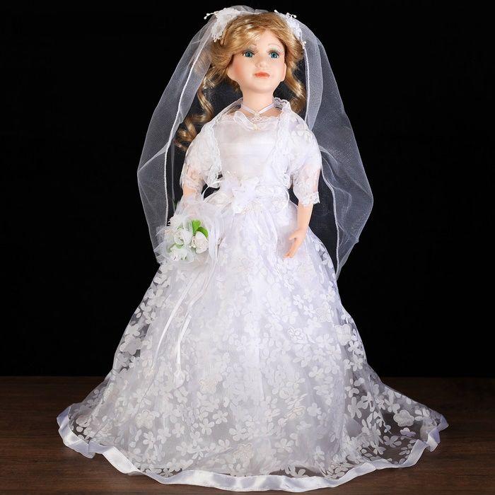 Кукла Невеста с букетиком