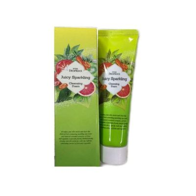 Пенка для умывания PURE DEOPROCE JUICY SPARKLING CLEANSING FOAM 70g