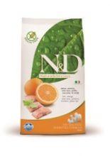 Фармина N&D Dog GF рыба с апельсином сухой корм для взрослых собак 12 кг