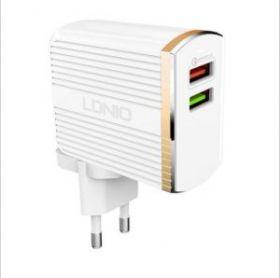 Двухпортовое зарядное устройство LDNIO QC 3.0