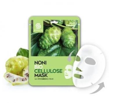 АКЦИЯ!  Маска для лица тканевая с экстрактом нони G9SKIN NONI Biocellulose mask 25гр