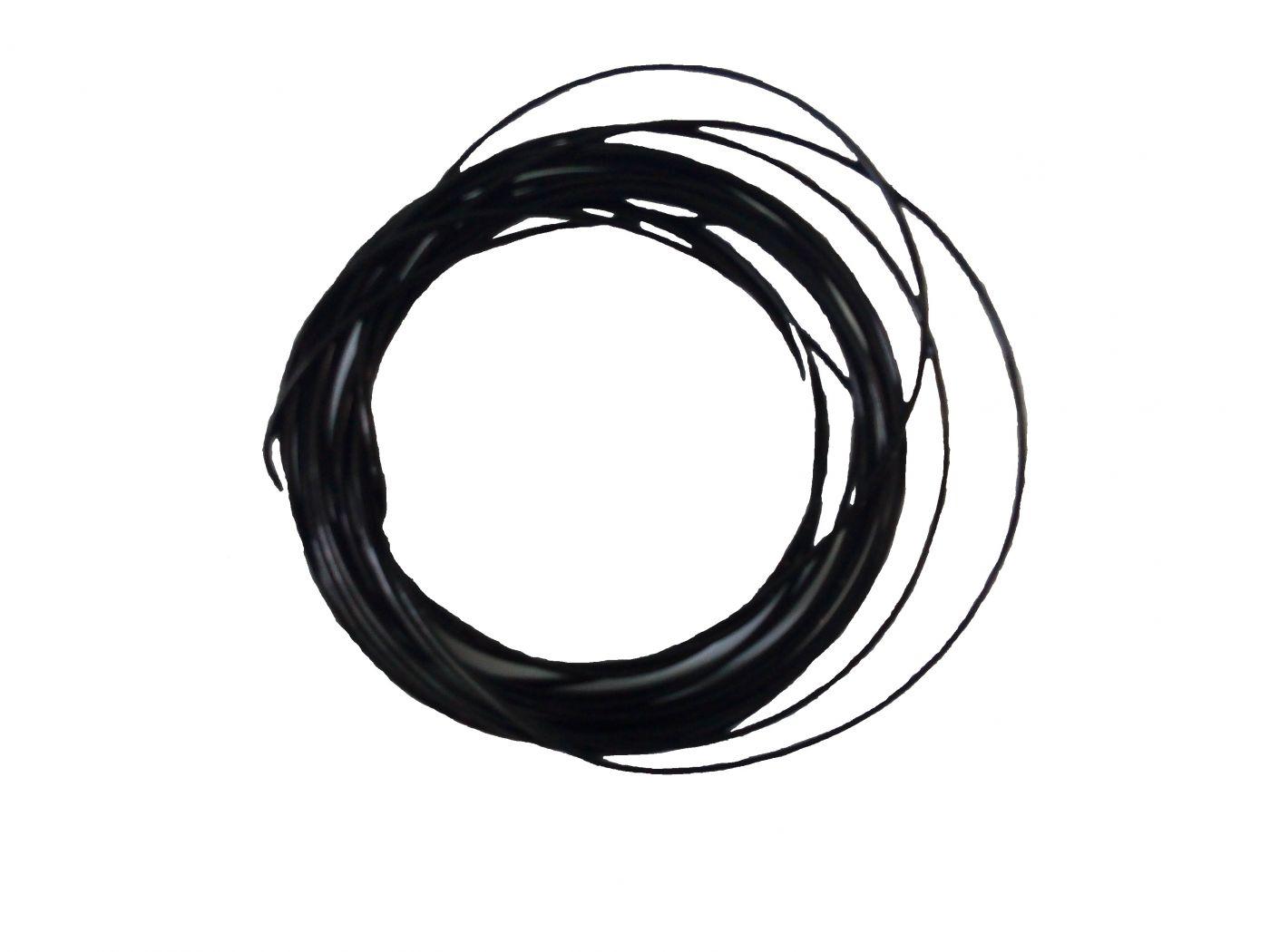 Пластик для 3d ручки PLA черный 5м
