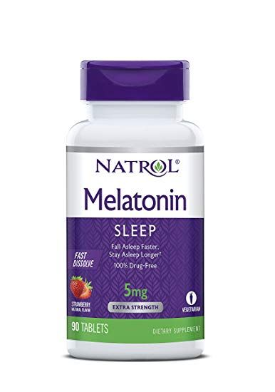 Natrol - Melatonin 5,10 mg