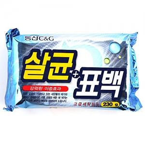 Clio Мыло хозяйственное Bactericidal Bleaching Soap 230g