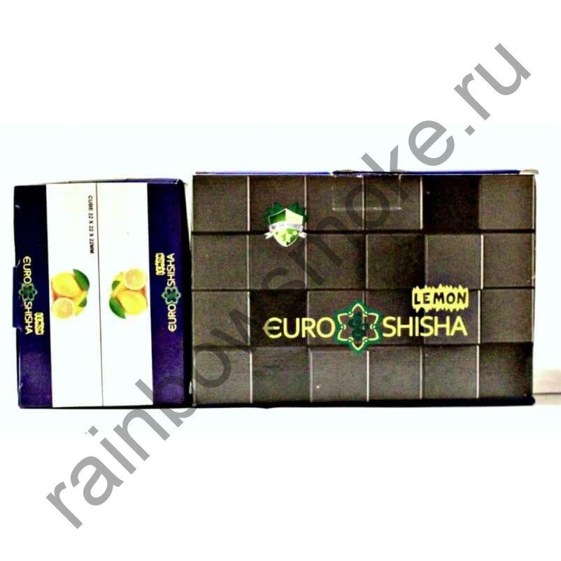 Уголь кокосовый для кальяна Euro Shisha Lemon (108шт)