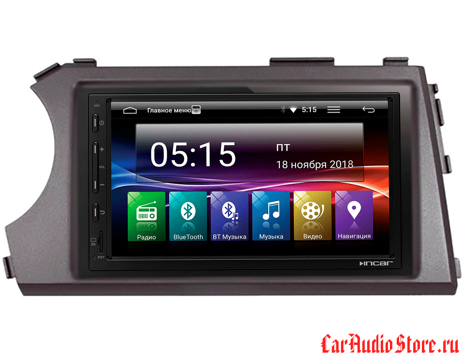 INCAR 87-7702 SsangYong Actyon 06-10 Android 7.0