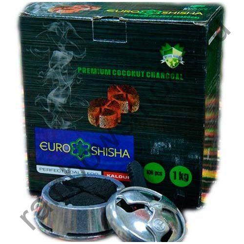 Уголь кокосовый для кальяна Euro Shisha Kaloud (108шт)