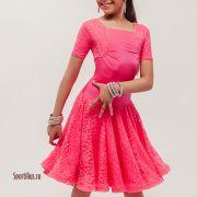 Гипюровое рейтинговое платье