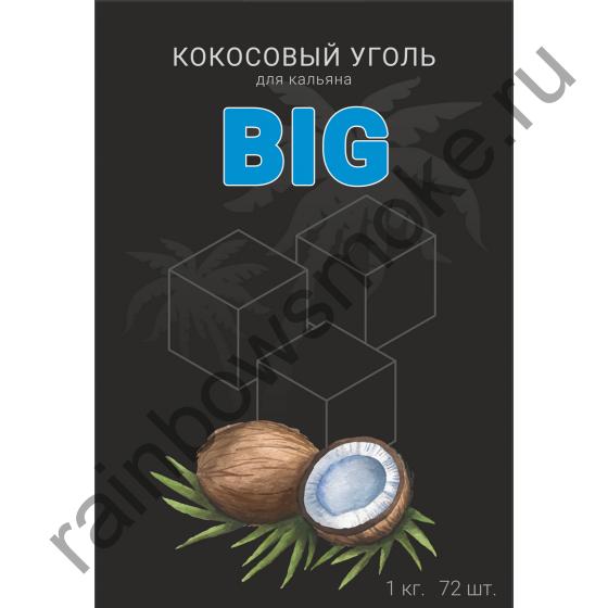 Уголь кокосовый для кальяна Euro Shisha BIG (72шт)