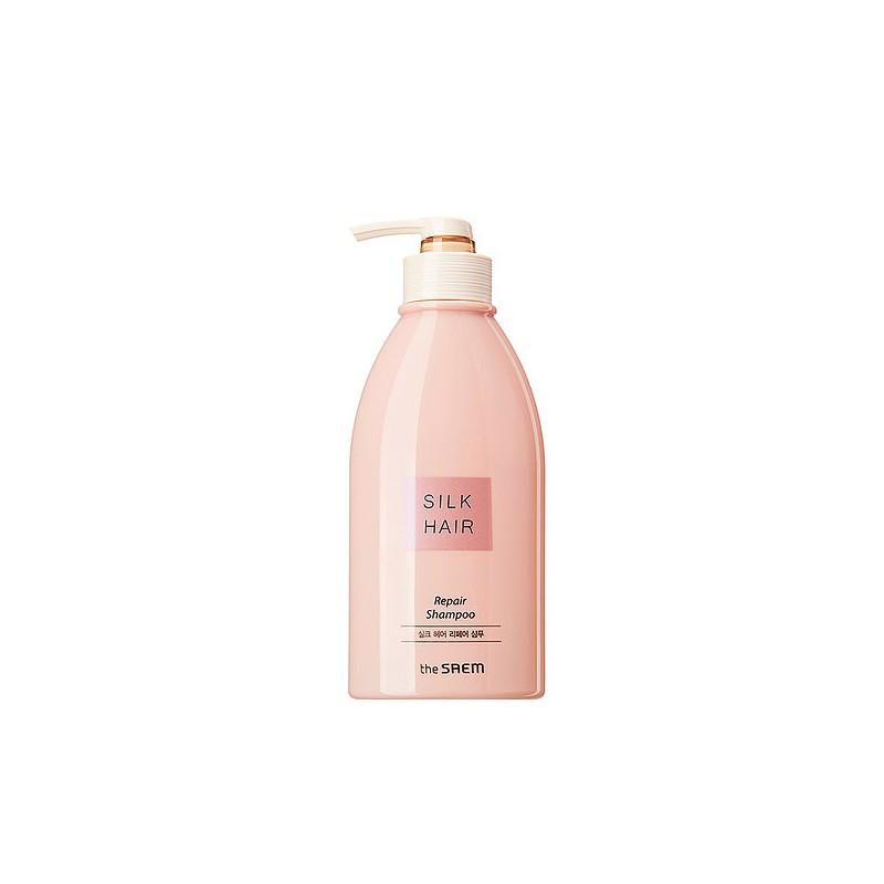 ЛИКВИДАЦИЯ! THE SAEM SILK HAIR R Шампунь для волос Silk Hair Repair Shampoo 320мл