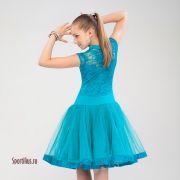 голубое платье для девочки в интернет магазине