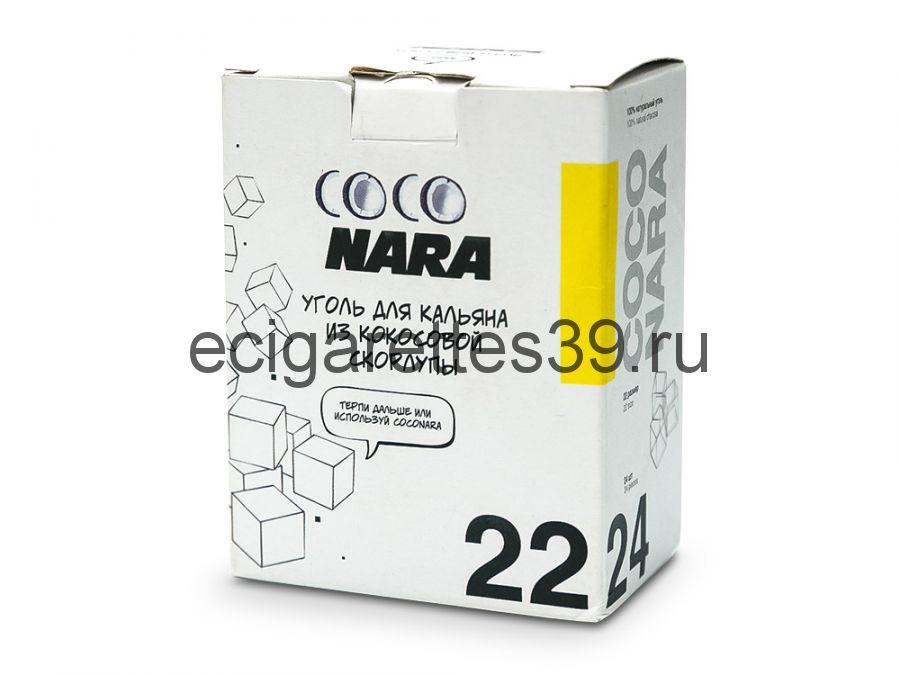 Уголь для кальяна кокосовый CocoNara 24 шт.