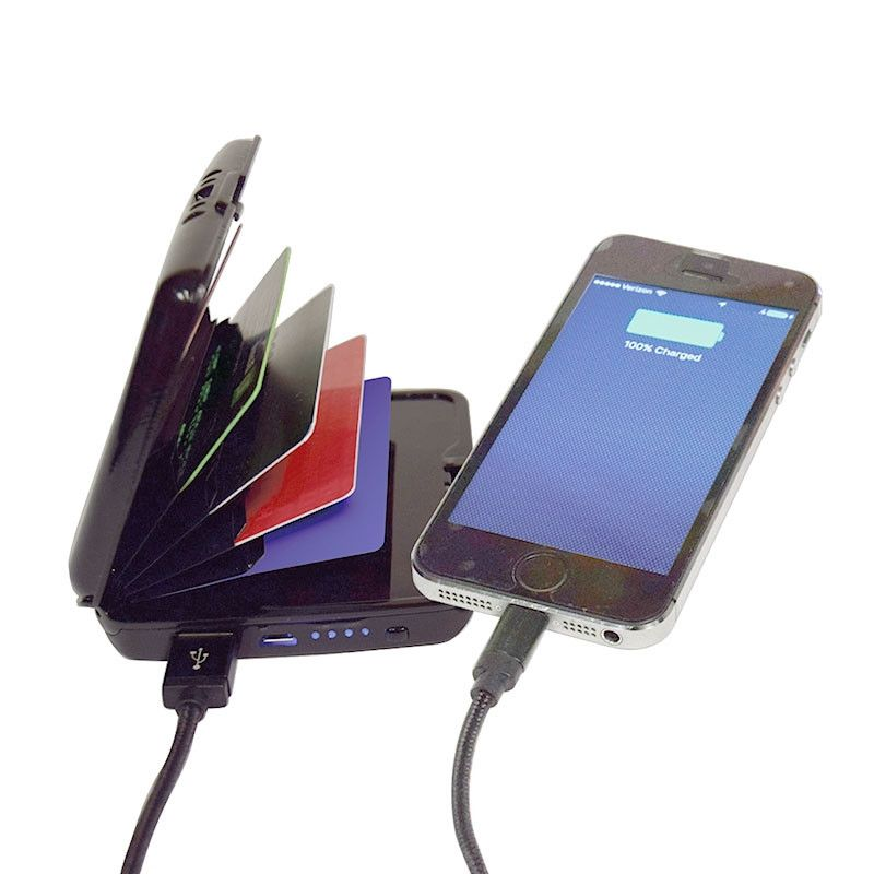 Кошелек-зарядка E-Charge Wallet 10 000 Mah