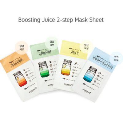 Маска для лица тканевая SKINFOOD Boosting Juice 2-step Mask Sheet 23мл