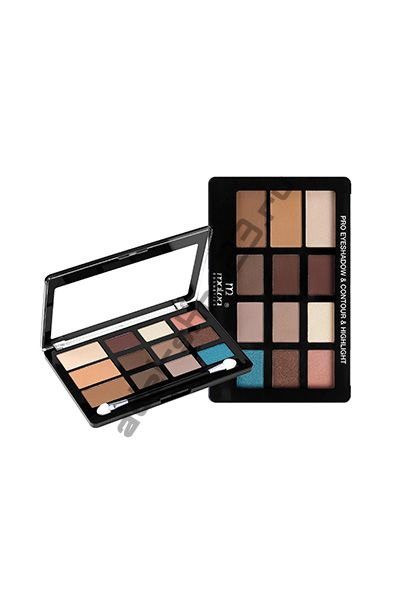 MALVA - ПАЛИТРА PRO EYE SHADOW CONTOUR&HIGHLIGHT