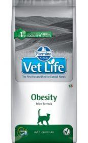 Фармина Vet Life Cat Obesity диета для кошек при ожирении, 10 кг