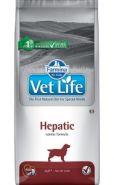 Фармина Vet Life Dog Hepatic диета для собак при хронической печеночной недостаточности, 12 кг