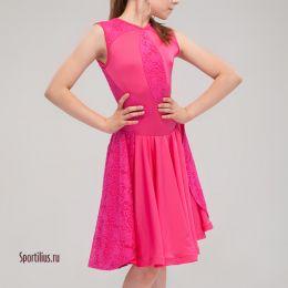 """Бальное платье """"Афина"""", малиновое"""