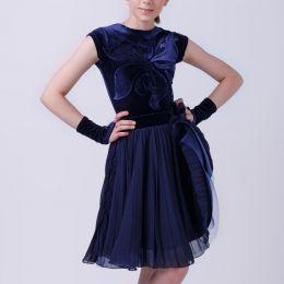 Платье - комплект велюровое