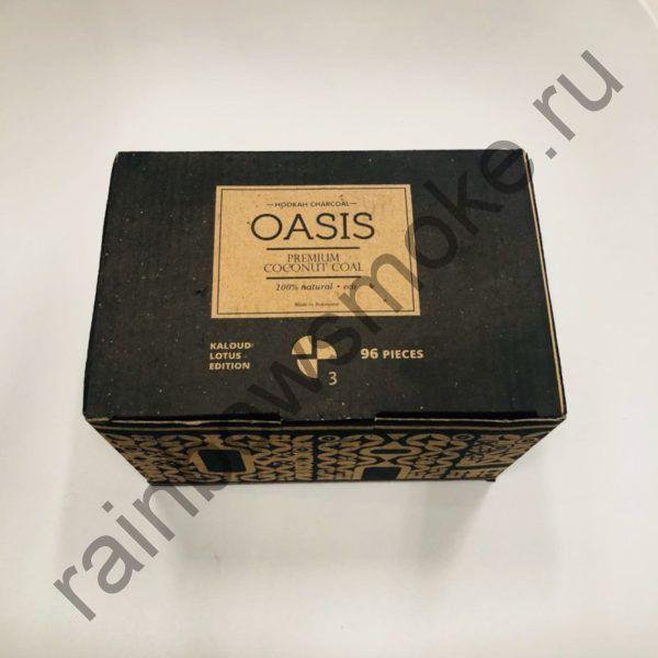 Уголь кокосовый для кальяна Oasis Kaloud (96шт)