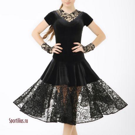 """Платье для бальных танцев """"Винтаж"""""""