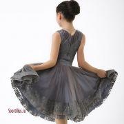 рейтинговое платье для девочки с гипюром
