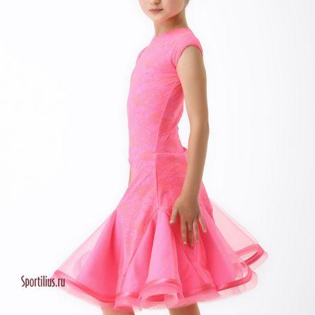 Платье для девочки Орхидея для танцев