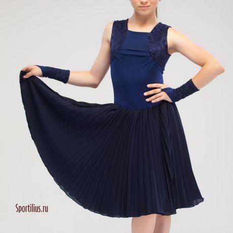 платье бальное для выступления