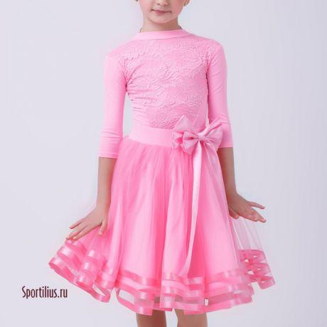 """Платье для бальных танцев """"Рубин R"""""""