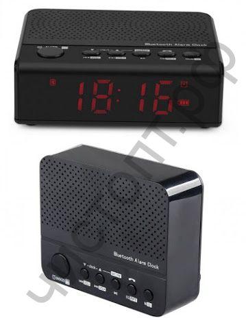 Колонка универс.с радио Часы-колонка MX-19 аккум. 18650
