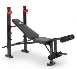 Скамья тренировочная для жима Adidas Red Sports ADBE-10354