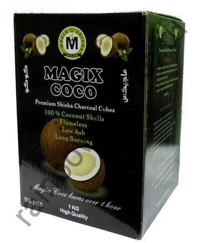 Уголь для кальяна Magix Coco (96шт)