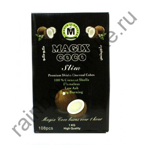 Уголь для кальяна Magix Coco Slim (108шт)