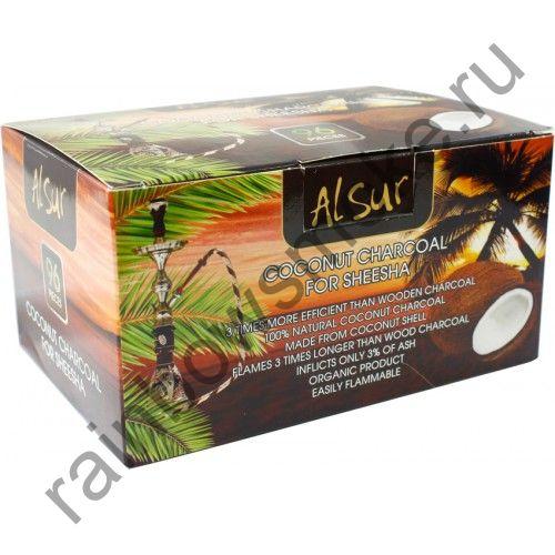 Уголь кокосовый для кальяна Al Sur (96шт)