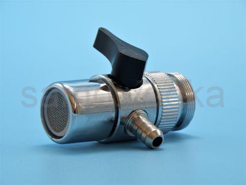 Дивертор / переходник на кран для подачи воды 8 мм