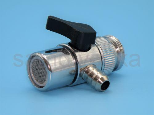 Дивертор / переходник на кран для подачи воды 10 мм