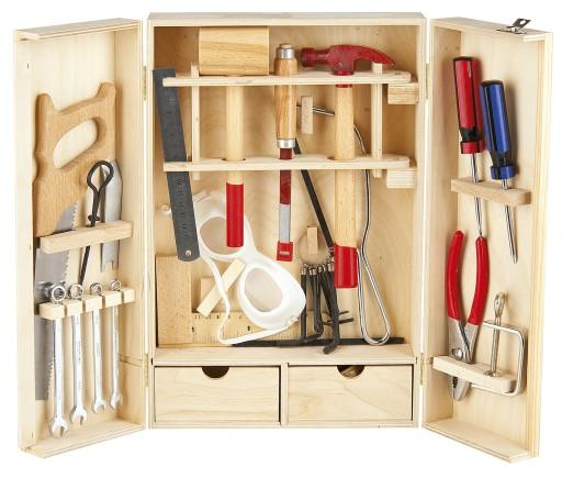 Набор инструментов Маленький Мастер 30 элементов 240395