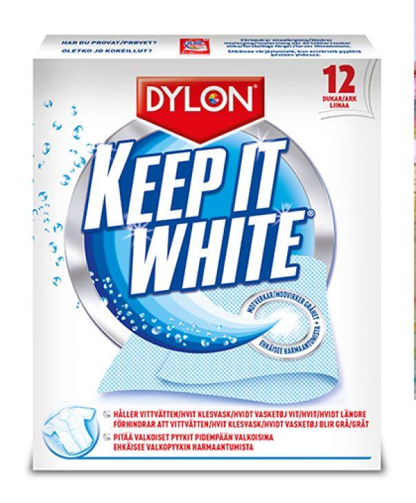 Салфетки против серого 12 шт DYLON KEEP IT WHITE