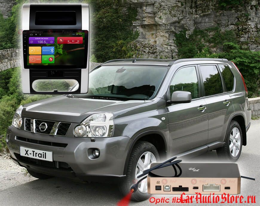 Nissan X-Trail (2007-2015) (климат) Redpower 31001 R IPS DSP ANDROID 7