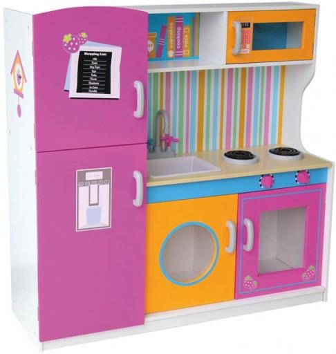 Кухня деревянная Мульти со стиральной машиной 244013