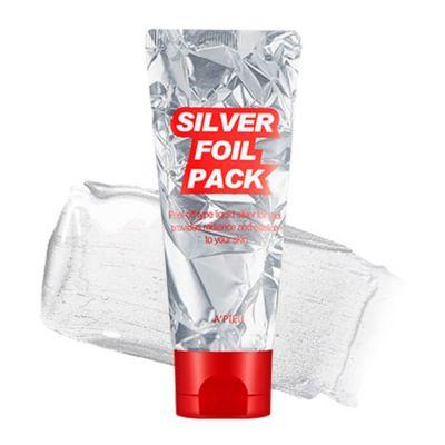 Маска-пленка для лица серебрянная A'PIEU Silver Foil Pack