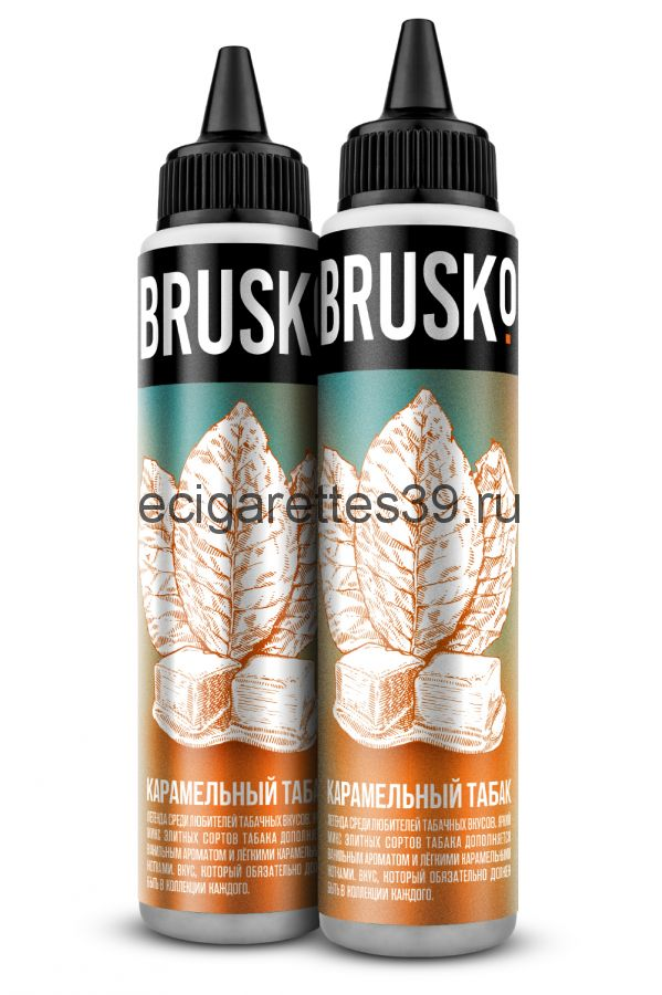 Жидкость Brusko, Карамельный табак, 60 мл.