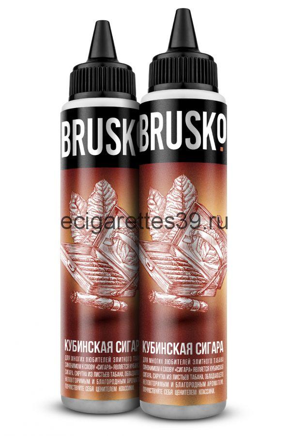 Жидкость Brusko, Кубинская сигара, 60 мл.