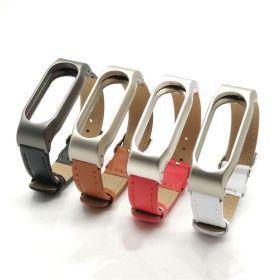 Ремешок для браслета Xiaomi Mi Band 2 кожаный